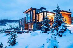 HappyModern.RU | Проекты домов с плоской крышей (62 фото): новые материалы — новые возможности | http://happymodern.ru