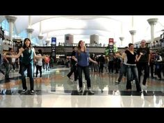 Denver Airport Flash Mob - it's stuff like this that makes me miss dancing...maybe one day I'll go back to it