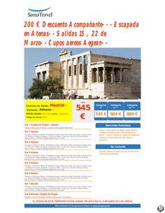 200 € Descuento Acompañante---Escapada en Atenas--Salidas 15 , 22 de Marzo--Cupos aereos Aegean-- ultimo minuto - http://zocotours.com/200-e-descuento-acompanante-escapada-en-atenas-salidas-15-22-de-marzo-cupos-aereos-aegean-ultimo-minuto-2/