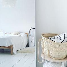 white minimal bedroom / Allspice Design