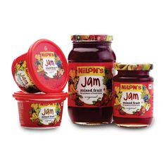 Jam is a fruit preserve product, made all around the world, It is mainly consists of ingredients like Fruits and Sugar.A number of delicious treats can be made with this tasty fruit mix which are enjoyed by kids and adults alike.