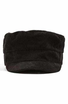 Topshop Corduroy Baker Boy Hat Baker Boy f0e5d59f0df