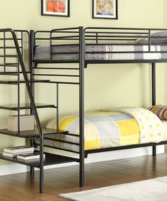 Take a look at this Metal Stairway Bunk Bed on zulily today!