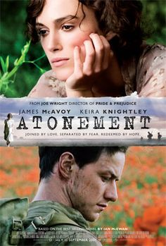 Atonement was nominated for best picture and best supporting actress (Saoirse Ronan) in 2007 and won the Golden Globe for best picture-drama