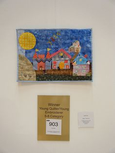 The Winner in the age 5-8 category! Wow!   Festival of Quilts NEC Birmingham August 2010 by monda loves..., via Flickr