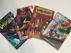 4 Comic Books for Girls Who Don't Read Comics