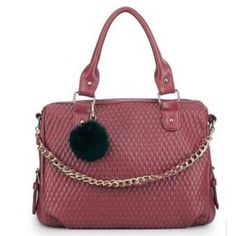 Craftstages Designer  Wine Red Bag