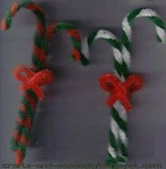 This website has a few good little pipe cleaner crafts for kids