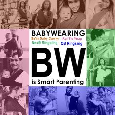 Mommy Sao & Family's (Proudly Pinoy) baby carriers / slings for blissful babywearing.