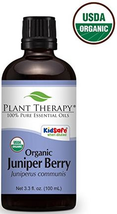 Plant Therapy Juniper Berry Organic Essential Oil 100 mL oz) Pure, Undiluted, Therapeutic Grade Copaiba Essential Oil, Basil Essential Oil, Spearmint Essential Oil, 100 Pure Essential Oils, Plant Therapy, Organic Plants, Herbalism, Pure Products