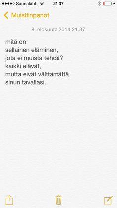 päivän runo 6.8.2014