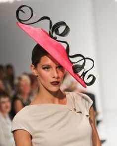 Selected by Peabody Essex Museum for the current Hats: An Anthology by Stephen Jones. Stephen Jones, Crazy Hats, Western Hats, Wearing A Hat, Love Hat, Classy And Fabulous, Headdress, Hats For Women, Fascinator