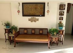 Pinkz Passion : Sticking With The Classics (Home Tour of Nikeeta Deshpande) - pranesh muniswamy - Indian Living Rooms Decor, Indian Decor, Indian Room Decor, House Interior, Indian Home Decor, House Interior Decor, Home Decor, Wooden Sofa Designs, Home Decor Furniture