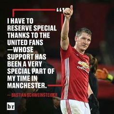 #Soccer #Quotes - # Bastian Schweinsteiger, Manchester United Players, Soccer Quotes, No Time For Me, Quotations, How To Become, The Unit, Football Boots, Theatre