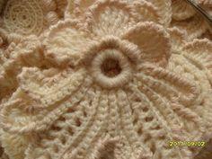 Irish Crochet Lace close up