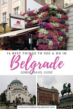 14 Best Things to do in Belgrade European Destination, European Travel, Europe Travel Guide, Travel Guides, Travel Advice, Budget Travel, Amazing Destinations, Travel Destinations, Serbia Travel