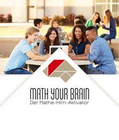 Darauf hat jeder gewartet: Math your Brain startet jetzt! Mit aktiviertem Mathe-Hirn lässt sich Mathe leicht verstehen.   Nie wieder Nachhilfe! Für die 8. bis 13. Schul-Klasse. Jetzt bei Kickstarter. Your Brain, Movie Posters, Movies, Finding Someone Quotes, Kids Math, Mathematics, First Class, School, Studying