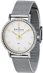 #Skagen Womens 922sgs Denmark Silver  women watch #2dayslook #new #watch #nice  www.2dayslook.com