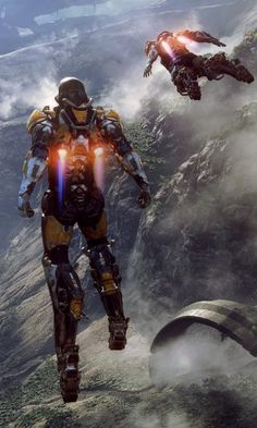 Explore a place you've never seen in a time you've never known, in Anthem, a new game from EA's BioWare studio.