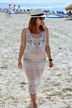 Lace cover-up #FabFound in the Cube. #babymoon