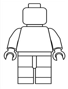create your own Lego person