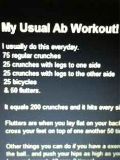6-Pack Ab Workout - 6-Pack Ab Workout  Repinly Health & Fitness Popular Pins
