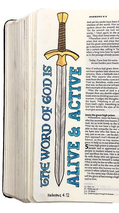 Bible journaling illustrations for verses from 1 & 2 Peter, 2 Timothy and Hebrews, featuring hand drawn pictoral elements as well as typography. Bible Study Notebook, Bible Study Journal, Scripture Study, Bible Art, Inspirational Bible Quotes, Bible Verses Quotes, Bible Scriptures, Bible Drawing, Bible Doodling