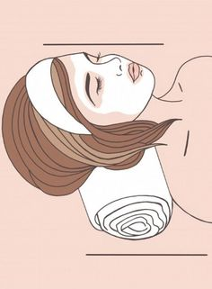 Beauty Illustration for Not Just Powder ~ Ali Hansen Illustration Website Illustration, Beauty Illustration, Skin Care Spa, Facial Skin Care, Skin Clinic, Background Pictures, Beauty Room, Good Skin, Beauty Skin