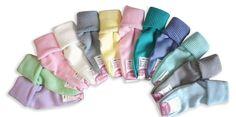 Calze corte da donna a costine, 12 paia colori pastello