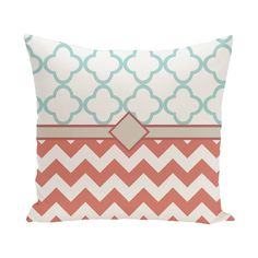 16 x 16-inch Express Line Geometric Print Outdoor Pillow - Free Shipping On Orders Over $45 - Overstock.com - 18889646