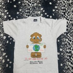 7f20ea164bc Dm with any questions This is a vintage single stitch t shirt for a  toddler. Depop