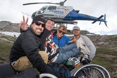 Jarrett Martin is the 1st paraplegic to BASE jump!
