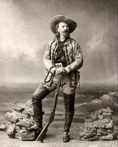 Buffalo Bill Cody 1800s Historical Wild West 8x10 Photo Reproduction