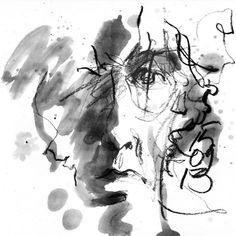 Self Portrait by Jhartho Kempink. #art #drawing #artist #black