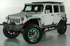 Project Green Shadow Jeep from Starwood Motors