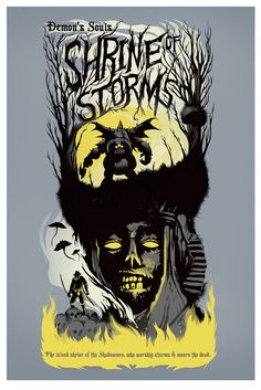 """The island shrine of the Shadowmen, who worship storms and mourn the dead."""" Gallery quality, Giclée fine art print in a matte finish created with Cotton paper and archival inks. Print is available in"""
