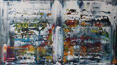 acrylic painting on canvas 100 cm x 70 cm NO.329