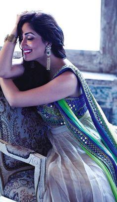 Bollywood actress Yami Gautam looking beautiful in this traditional outfit. Indian Celebrities, Bollywood Celebrities, Bollywood Fashion, Bollywood Actress, Saree Fashion, Bollywood Stars, Anarkali, Churidar, Salwar Kameez