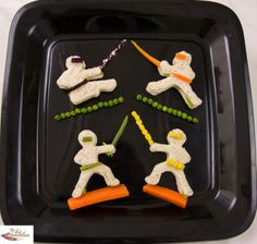 Ninja-bread Men #meal