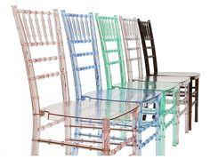 Luxury Chair Design, Crystal Chiavari for Interior Office Furniture by OC International, Crystal Chiavari
