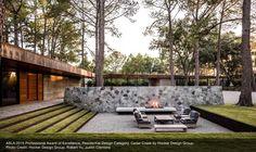 Survey Reveals Top Ten Design Trends for Residential Landscape Architecture | asla.org | ASLA 2015 Professional Award of Excellence, Residential Design Category. Cedar Creek by Hocker Design Group. Photo Credit: Hocker Design Group, Robert Yu, Justin Clemons