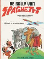 1968 - Spaghetti (Colored cover - European BV), in Bernard Voorzichtig's 01 Original Covers Comic Books - Comic Artists - Color Comic Art Gallery Room - 959355