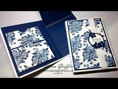 Stampin'Up! Floral Boutique Mini Folio Flip Album Tutorial - YouTube