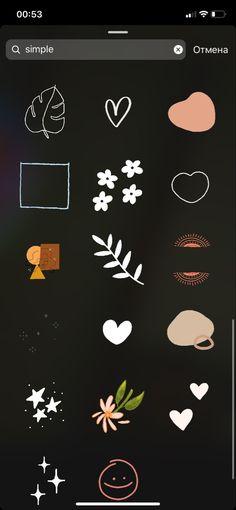Stickers Instagram, Instagram Emoji, Iphone Instagram, Snapchat Stickers, Instagram And Snapchat, Instagram Blog, Instagram Quotes, Photo Pour Instagram, Instagram Photo Editing