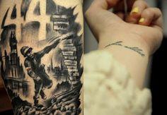 mine and my friend tattoos :)