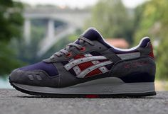 #Asics Gel Lyte III | Dark Navy & Grey
