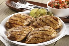 Grilled Mojito Lime Chicken with Fresh Tomato Salsa..Health tips,recipes, and weight loss,join us at: https://www.facebook.com/groups/LoseWithDebandSkinnyFiber/ * www.skinnyfiberplus.ca