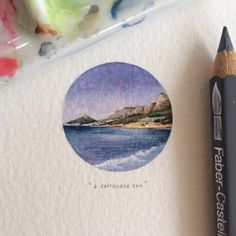 As part of her 365 Postcards for Ants project, the South African painter produces one miniature masterpiece for every day of the year – no bigger than a gold coin or matchstick. And they're not your average doodle, either, but super detailed, carefully shaded sketches that are worthy of some oohs and aahs.