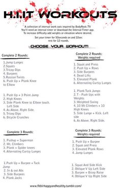 50 sec interval workouts