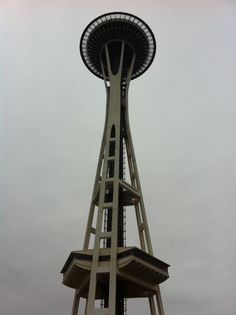 Seattle..I want to go to Seattle so bad, this is like the Eiffel tower of the U.S to me#UWSMC#Eiffeltower#paris